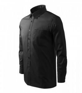 Cămaşă Bărbaţi Malfini Regular-Fit STYLE LS 209 Negru