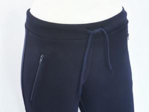 P.2007.Bleumarin, Pantalon Dama SLIM cu fermoare la buzunare