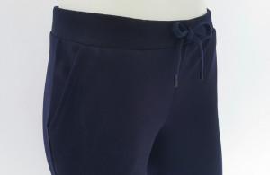 P.2013.Bleumarin, Pantalon Dama 3/4 cu Manseta