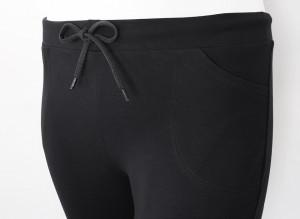 P.2014.Negru, Pantalon Dama 3/4 Clasic EXTRA LARGE