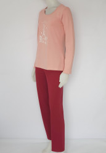 Pijama Damă KNOX 2147 . Piersica