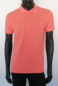 T.4514.Coral, Tricou Knox Polo Pique SLIM
