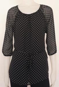 Bluza Dama V.2013.negru cu buline