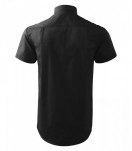 Cămaşă Bărbaţi Malfini Regular-Fit CHIC 207 Negru