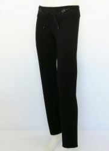 P.2002.Negru, Pantalon Dama Clasic