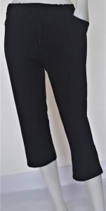 Pantalon Dama 3/4 CLASIC. 2014..Negru