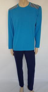 Pijama Bărbați Knox 4098 Albastru