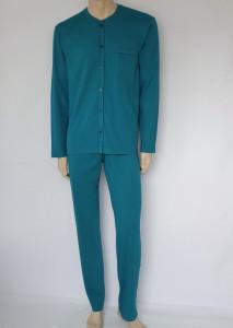 Pijama Bărbati Knox cu Nasturi 4099.Petrol