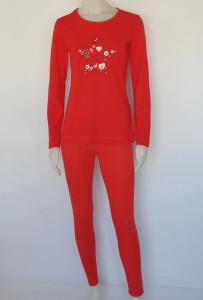 Pijama Damă Knox 2146.Rosu