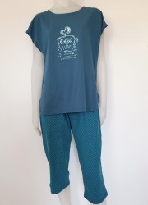 Pijama Damă Talia II 2152.petrol
