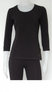 Bluza dama maneca 3/4 , 2000.negru