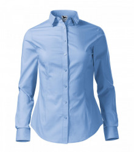 Camasa dama Malfini Slim-Fit STYLE LS 229 Light Blue