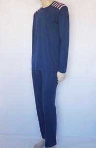 Pijama Bărbați Knox 4098.Navy