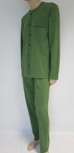 Pijama Bărbati Knox cu Nasturi 4099 Kaki