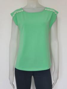 Tricou Dama CLASIC. 2889.verde