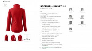 Jacheta Dama Malfini SOFTSHELL JACKET 510