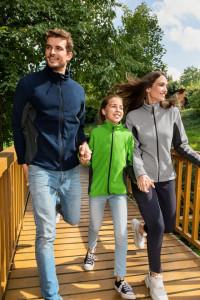 Jachetă Polar Copii Malfini FROSTY 529 Verde Mar
