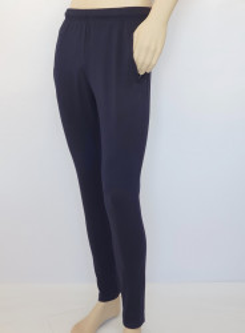 P.4005.Bleumarin, Pantalon trening Bărbați Slim