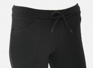 Pantalon Dama Conic cu manseta 2023.Negru