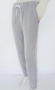 Pantalon Trening Modern Dama 2191 Gri Melanj