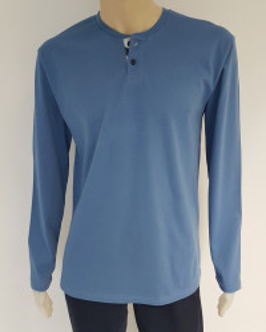 Pijama Bărbați Knox 4101 Albastru