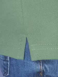 T.4511.Kaki, Tricou Knox Polo Pique Clasic cu Buzunar