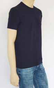 Tricou Barbati SLIM 4505.Bleumarin