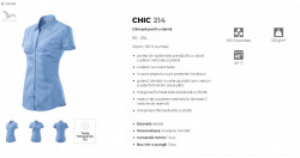 Camasa dama Malfini CHIC 214 Rosu