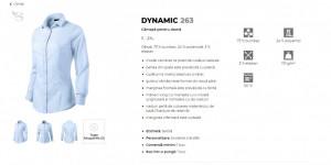 Camasa Dama Malfini Slim-Fit DYNAMIC 263 Alb