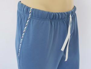 Pij.4100Dusty Blue, Pijama Bărbați KNOX
