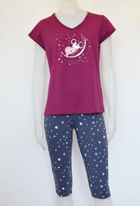 Pijama Damă 2162.fuxia