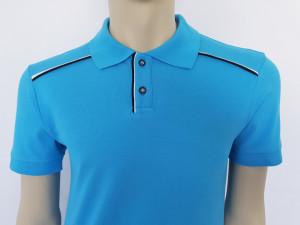T.4513.Albastru, Tricou Barbati Knox Polo Pique Clasic