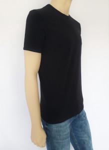 Tricou Barbati SLIM 4505.Negru