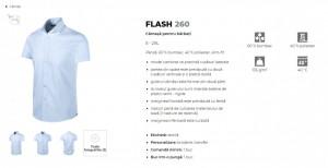 Cămaşă Bărbaţi Malfini Slim-Fit FLASH 260 Cafea