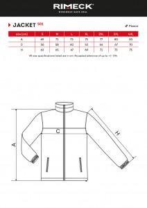 Jacheta Polar Barbati Malfini JACKET 501 Metalic Grey
