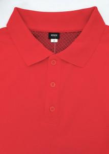 T.4510.Rosu, Tricou Barbati Knox Polo Pique Clasic