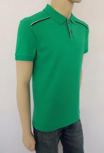 T.4513.verde, Tricou Barbati Knox Polo Pique Clasic