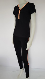 Compleu Dama Sport 2511.Negru&Orange