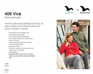 Hanorac Dama Malfini VIVA 409 Verde