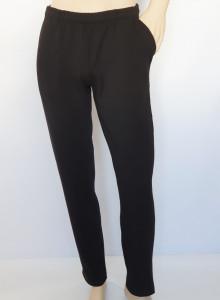 P.4011.Negru Pantalon Trening Bărbați CLASIC Gros