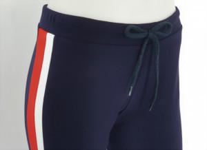 Pantalon Dama Conic.2182.Bleumarin&Rosu