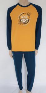 Pijama Bărbați KNOX 4073 Golden & Poseidon