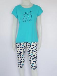 Pijama Damă 2163.Aqua Blue