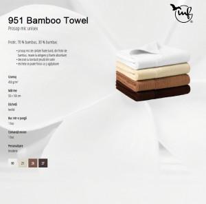 Prosop mic unisex Malfini BAMBOO TOWEL951 50*100