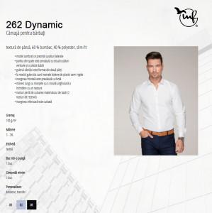 Cămaşă Bărbaţi Malfini Slim-Fit DYNAMIC 262 Light Bue