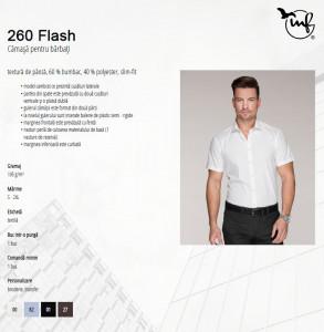 Cămaşă Bărbaţi Malfini Slim-Fit FLASH 260 Alb