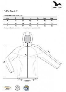 Jachetă softshell Bărbaţi Malfini COOL 515 Negru