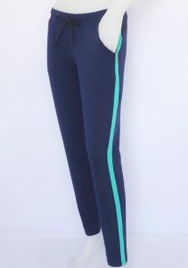 P.2169.Navy&Menta, Pantalon Dama Conic Knox