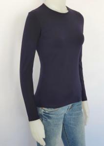 Bluza dama maneca lunga, 2001.Bleumarin