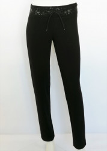 P.2022.Negru, Pantalon Dama Clasic